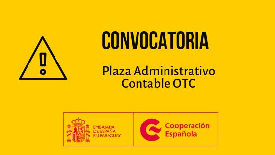Acta N° 6 de la convocatoria para la Plaza Administrativo Contable OTC