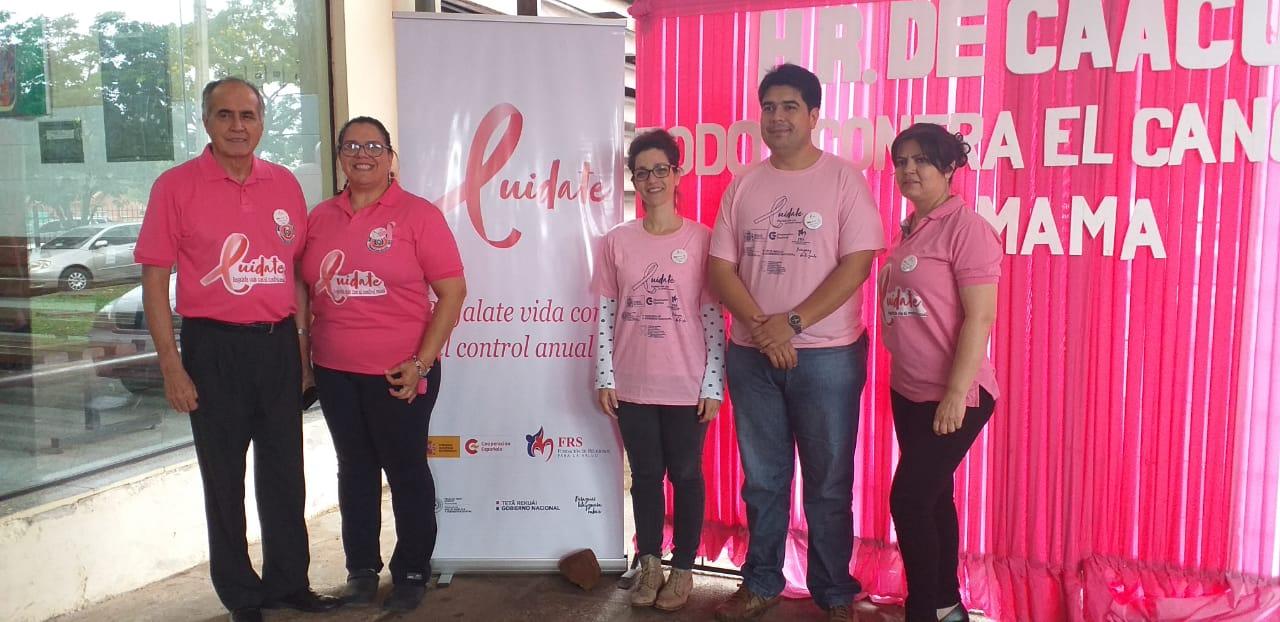 La Cooperación Española renueva el apoyo a Paraguay en la prevención y el tratamiento de cáncer de mama y de cuello uterino en 4 departamentos del país, con énfasis en los pueblos indígenas