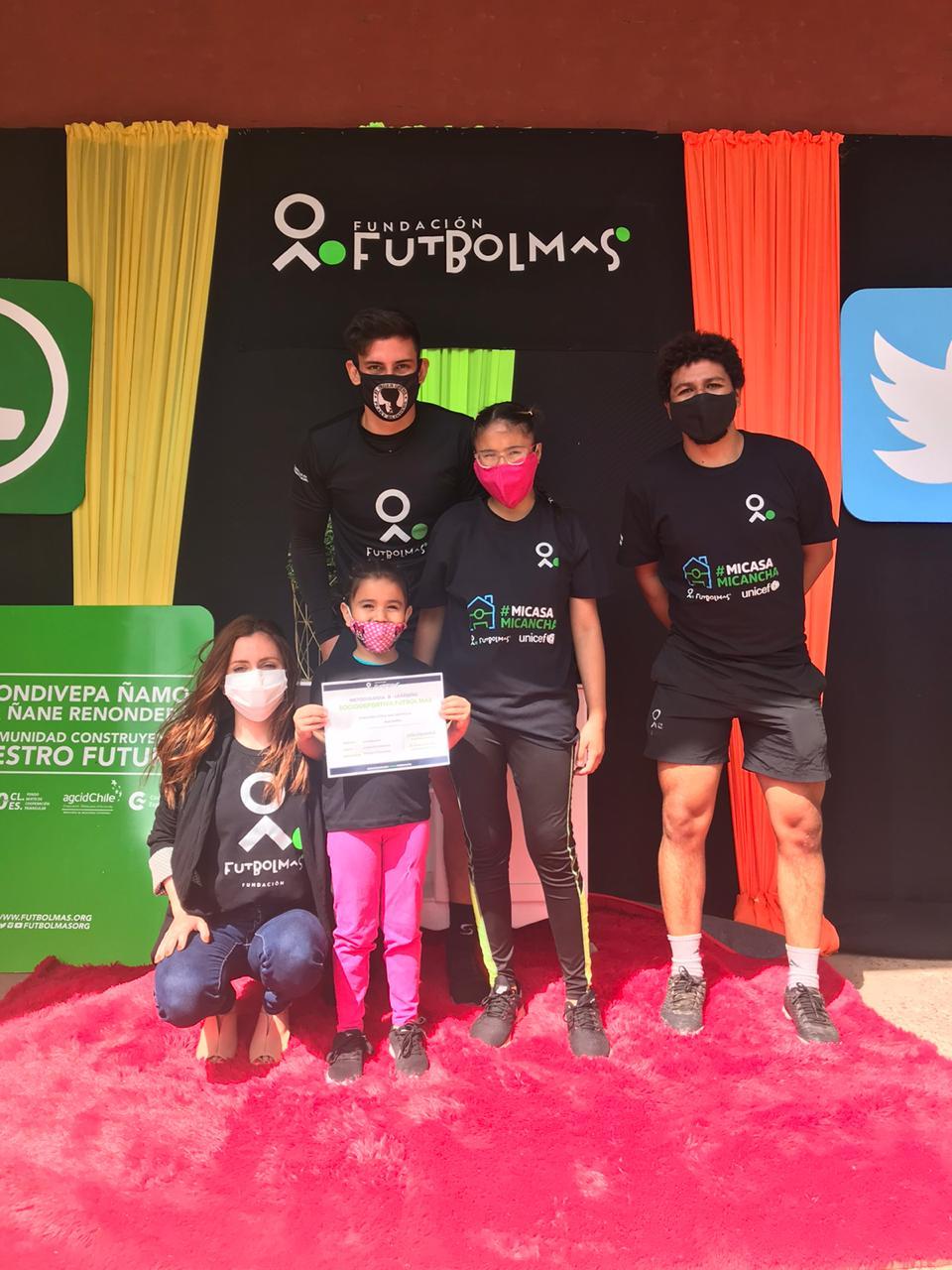 Fundación Fútbol Más Paraguay, espacios protegidos para la infancia y adolescencia.