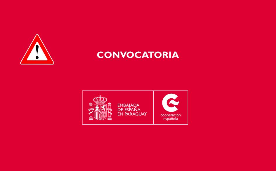 CONVOCATORIA PARA INGRESO COMO PERSONAL LABORAL TEMPORAL EN LA EMBAJADA DE ESPAÑA EN PARA'GUAY CON LA CATEGORIA DE AUXILIAR
