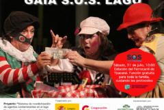 La campaña S.O.S Lago Ypacaraí invita a las obras Gaia S.O.S. Lago y El escuadrón S.O.S. Lago Ypacaraí