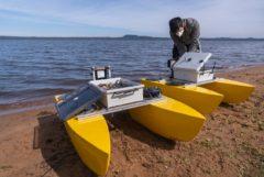 Fiuna desarrolló drones acuáticos para el monitoreo del lago Ypacaraí